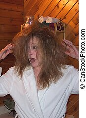 Yikes!Bad hair day! - Yes, I am leaving myself open to...