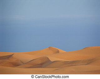 árabe, Areia, dunas
