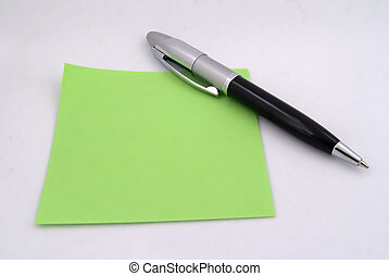 Pen and Paper 2 - Photo of Pen and Paper