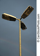 street light - triple street light