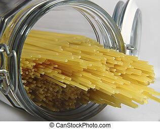 Spaghetti 1 - Photo of Spaghetti in Container
