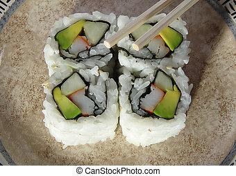 2,  Sushi