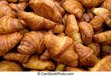 Bakery products - Some tasty croissants