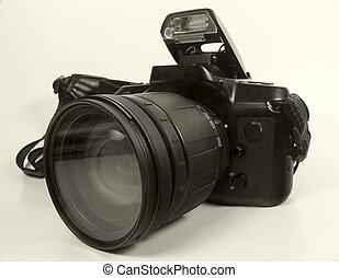 35mm SLR Camera - Photo of 35mm SLR Camera