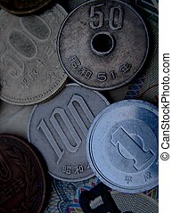 Jaanese coins - Some Japanese coins in use now