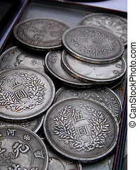 Old coins - Some old Japanese coins