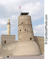 Old Fort Dubai - This castlefort is the oldest building...