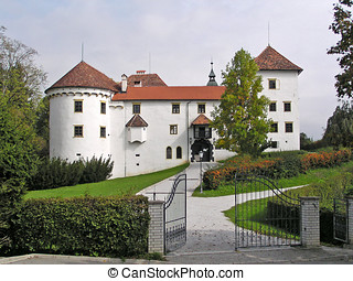 Castle (Slovenia) - A very big house!