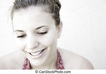Smiling Woman - Woman smiling