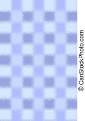 Tiles thru Glass 2 - Blue tiles thru a frosted glass door.