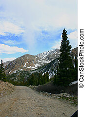Mountain Road - Many small rocky roads wind through the...