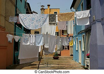 washing day - laundry day