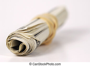 Rolled Up Money - Photo of Rolled Up Money
