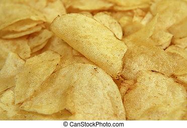 Potato Chips - Photo of Potato Chips