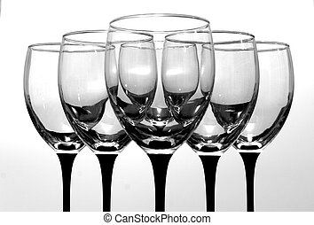 Wine Glasses - Set of wine glasses. If you would like a...
