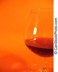 Brandy Glass  II - A glass with brandy.