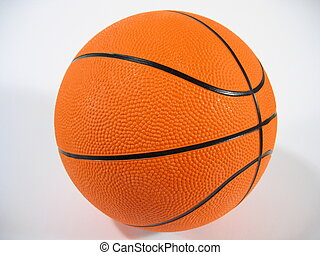 Basketball - A basketball on white background.