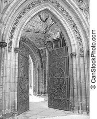 Church Entrance I - Entrance of an old church.