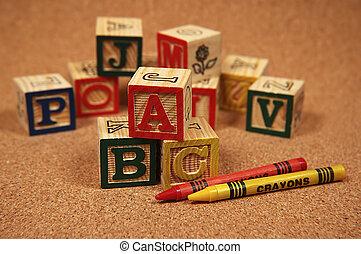 Baby Blocks - Photo of Wooden Baby Blocks
