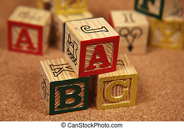 Wooden Blocks - Photo of Wooden Baby Blocks