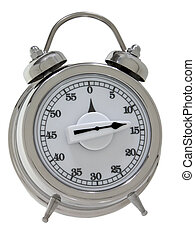 Egg Timer - Egg timer designed like a wind-up bell alarm...