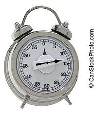 Egg Timer - Egg timer designed like a wind-up bell alarm...