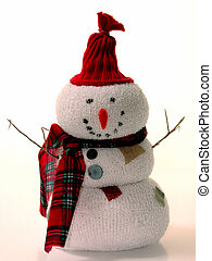 Snowy Snowman - This little guy was a craft project made...