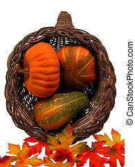 Fall Center Piece - Fall holiday table center piece shot...