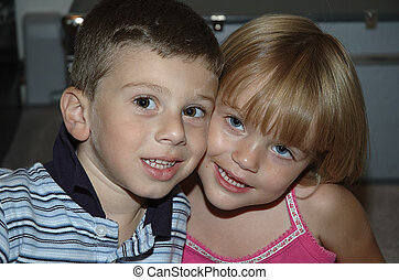 Friends - Photo of Boy and Girl Friends.