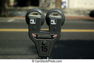 Parking Meter - Photo of Parking Meter.