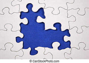 Puzzle - Dark Blue - Photo of Puzzle With Dark Blue...