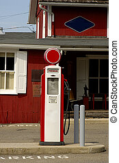 Antique Gas Pump - Photo of Antique Gas Pump