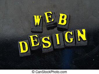 Web Design - Photo of The Word Web Design.