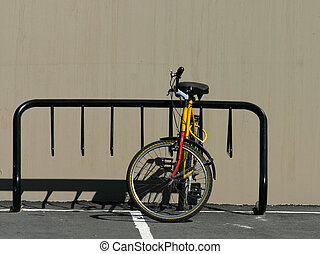 Bike rack - Moutain bike and bike rack