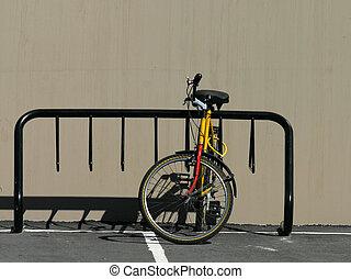 Bike rack - Moutain bike and bike rack