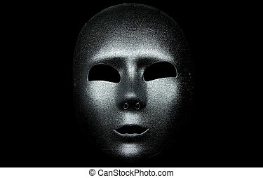 prata, máscara