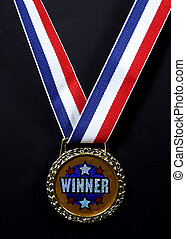 Winner - Photo of a Medal.