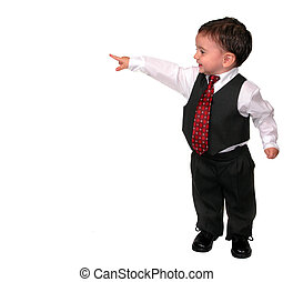 Little Man Pointing - Have this happy little business man...