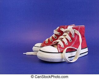 Allstar II - Isolated shot of toddler basketball shoes