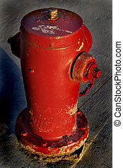 Fire Hydrant - A fire hydrant from above