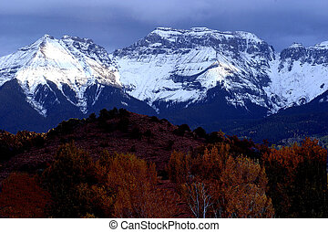 Mountain range - Mountains near Telluride
