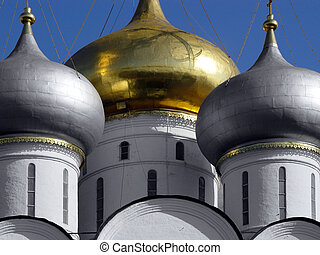 Golden Dome - Novodevichy Convent known in the days of old...