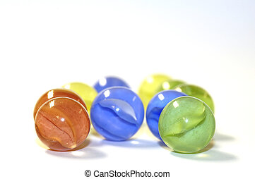 marbles - glass marbles