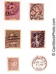 Vintage Postage - Photo of Vintage Postage