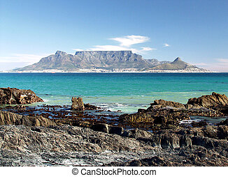 Table mountain - Table mountain, Cape Town, South Africa