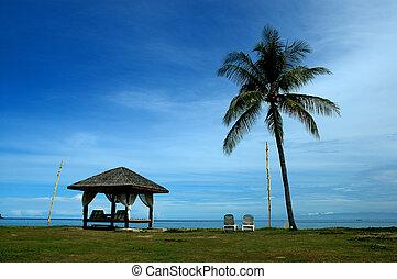 relaxing - Taken in Karambunai, Sabah Malaysia