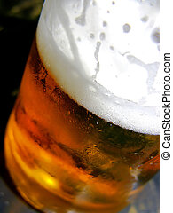 beer - close up of a beer