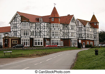 Hotel on golf course - english grand hotel