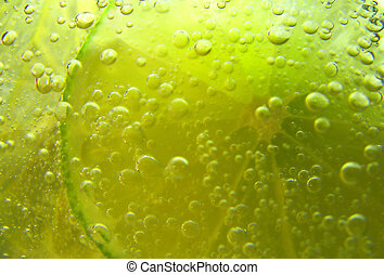 bubbles - fruit with bubbles abstract
