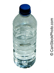 Bottled Water - Isolated bottle of spring water